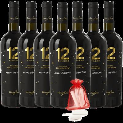 Primitivo del Salento 12 e Mezzo IGP - Christmas Edition Pack