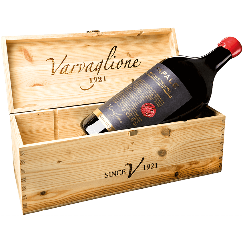 Papale Linea Oro Primitivo di Manduria DOP 2015 fadobozban 3L