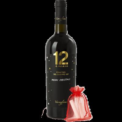 Primitivo del Salento 12 e Mezzo IGP - Christmas Edition
